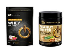 SANTE GO ON NUTRITION Whey 750g + GO ON Peanut Butter 100% Nut 1000 g