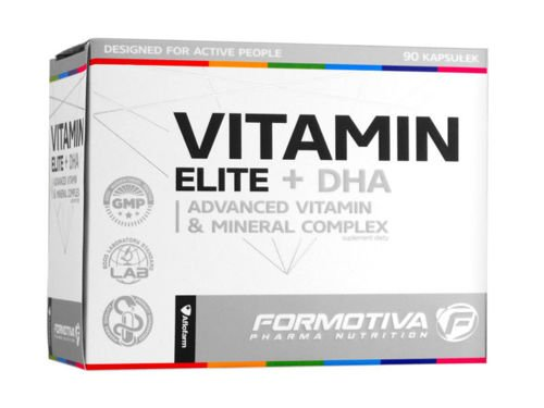 FORMOTIVA Vitamin Elite + DHA 90 caps