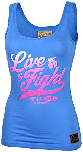 OLIMP LIVE & FIGHT Lady's Tank Top ORIGINAL 90