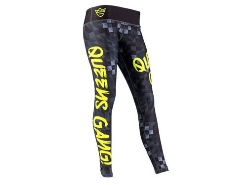 OLIMP LIVE & FIGHT Women's Leggings NEON