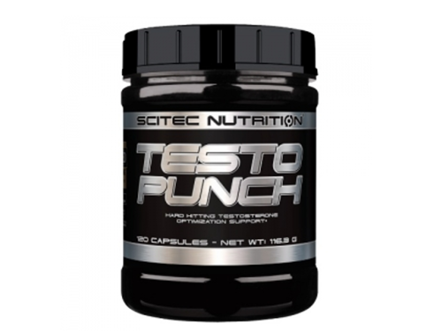 Outletw_SCITEC  Testo Punch 120 kaps